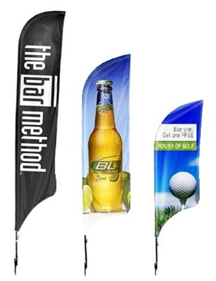 Premium Feather Flag + Hardware