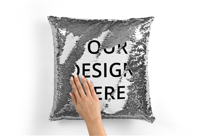 Design Custom Sequin Pillow