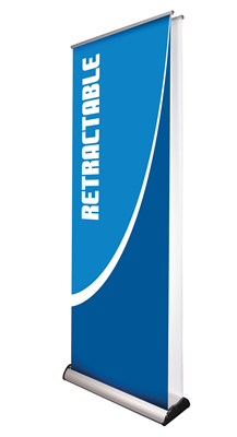 Double-Sided Retractable Banner